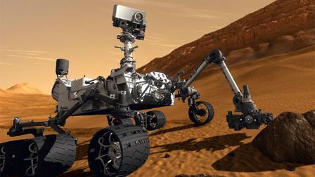 El Curiosity llega con éxito a Marte