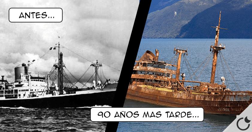 Barco reaparece después de 90 años perdido navegando